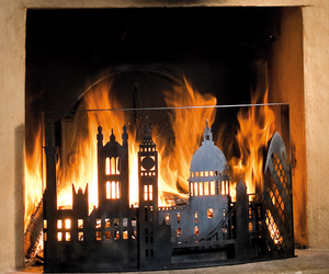 Skyline Fireplace Screens