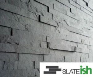 Slate-ish Tile - Soot Strips
