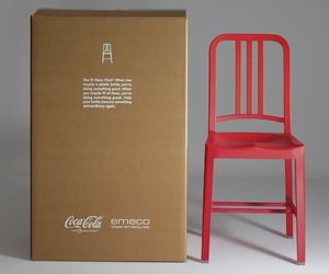 Sleek Chairs Made from Empty Soda Bottles