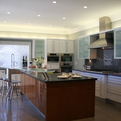 Sleek, Modern Kitchen Delights Client in Palo Alto, CA