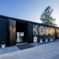 Sleek + Rustic Design of Koya Restaurant and Lounge