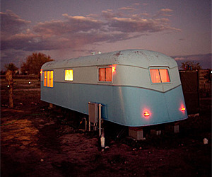 Sleep in a 50's Trailer