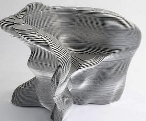 Slice chair by Mathias Bengtsson