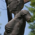 Sliced Metal Sculptures by Chan Girl Park