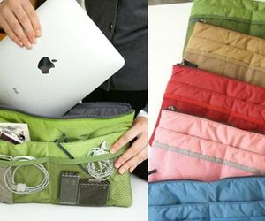 Slim Bag-in-Bag for organized gadgets