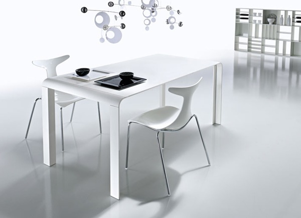 Slim Futuristic Dining Table