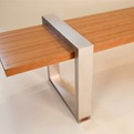 Slip-Square Bench by SPD