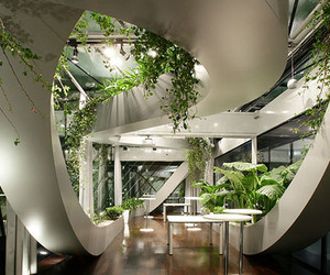 Slovenia Indoor Garden by Sadar+Vuga Architects