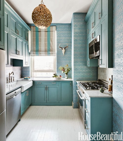 Interior Design Ideas Kitchen Color Schemes: Small But Elegant Kitchen