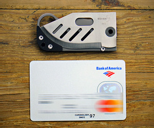 Small Credit Card Knife by Boker
