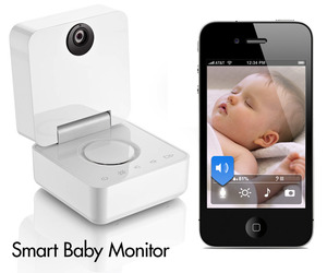 Smart Baby Monitor Works With IPhone and iPad