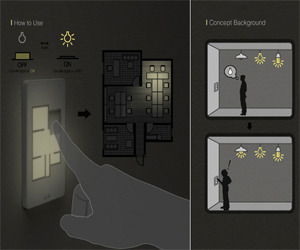 Smart Light Switches by Taewon Hwang