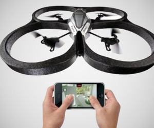 Smartphone Controlled Drone Quadricopter by Parrot