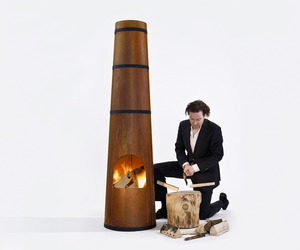 SmokeStack outdoor heater