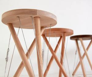 Snelson Stool by Sam Weller
