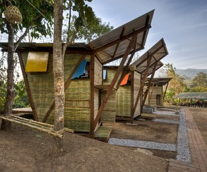Soe Ker Tie Bamboo Houses Built For Refugee Orphans
