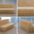 Sofa-XXXX is made from 8000 chopsticks