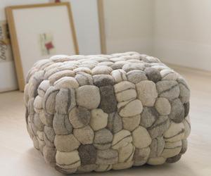 Soft Stone Pouf