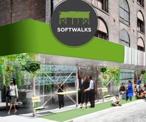 SOFTWALKS, urban intervention by Cityofwalks