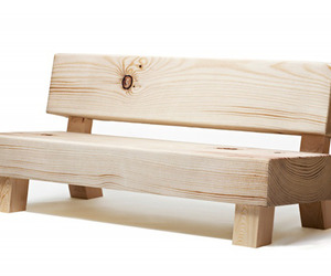 Softwood Bench by Foursome for Moroso