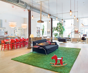 SoHo Loft Conversion by The Apartment Creative Agency