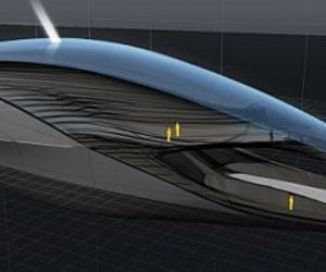 Solar and Wind Powered Mega Yacht Concept