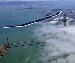 Solar Impulse Solar Powered Airplane