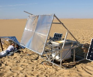 Solar Powered 3D Printer