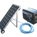 Solar Powered Backup Generator