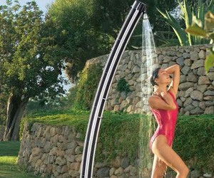 Solar Powered Garden Water Shower