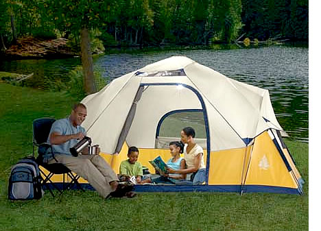 Solar Powered Tent