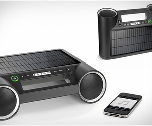 Solar Powered Wireless Speaker