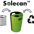 Solecan - Eco-Friendly Trash/Recycle Can