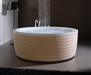 Soleil, a round bathtub from Porcelanosa