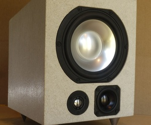Solid Stone Speaker from Audiomasons Design Works: Bastion