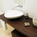 Solid Wood Bathroom Counter Top