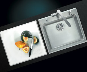 SolidArt, Sink with Cutting Surface