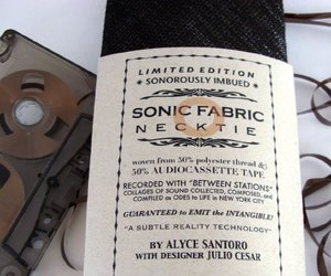 Sonic Fabric - Audiotapes become Accessories