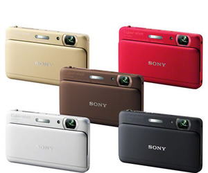 Sony Cyber-shot DSC-TX55: Stylish and fun!