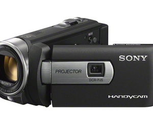 Sony DCR-PJ5, At the same Handycam Projector