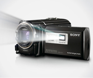 Sony HD Camera with Projector