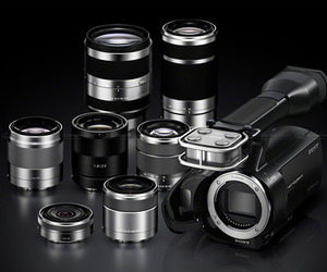 Sony NEX-VG20 | Interchangeable Lens Camcorder