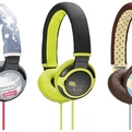 SONY PIIQ : Colorful & Funky Headphones