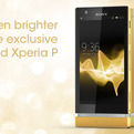 Sony Xperia P 24-Carat Gold