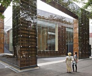 Sou Fujimoto's new library
