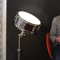 Sound-Activated Drum Light