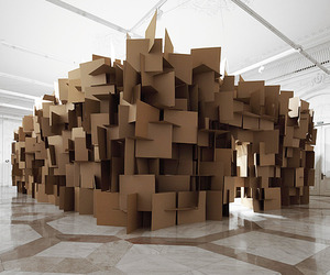 Sound Sculpture by Zimoun