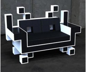 Space Invader Couch : Unique Sofa by Igor Chak