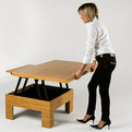 Space Saving Dining Table by Steve Spett and Ron Barth