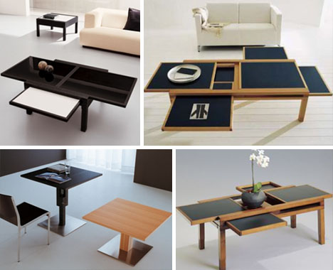 Space Saving Table By Sculptures Jeux